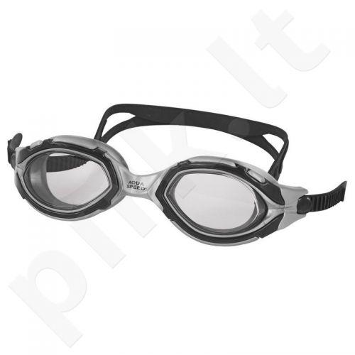 Plaukimo akiniai Aqua-Speed Falcon juoda