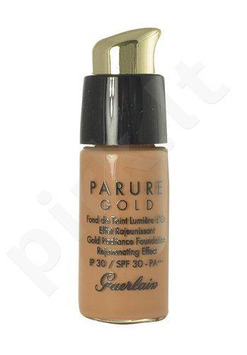 Guerlain Parure Gold Gold Radiance kreminė pudra SPF30, kosmetika moterims, 15ml, (testeris), (04 Medium Beige)