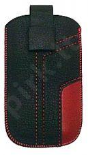 17-C MAGNET universalus dėklas C6-01 Telemax juodas/raudonas