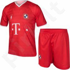 Komplektas futbolininkui Reda Bayern Monachium Lewandowski Junior raudonas