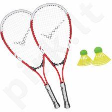 Badmintono rinkinys Allright raudonas