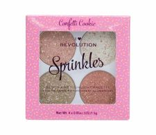 Makeup Revolution London I Heart Revolution, Sprinkles, skaistalai moterims, 6g, (Confetti Cookie)