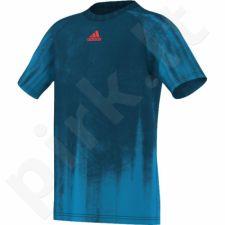 Marškinėliai tenisui Adidas adizero Tee Junior AA6410