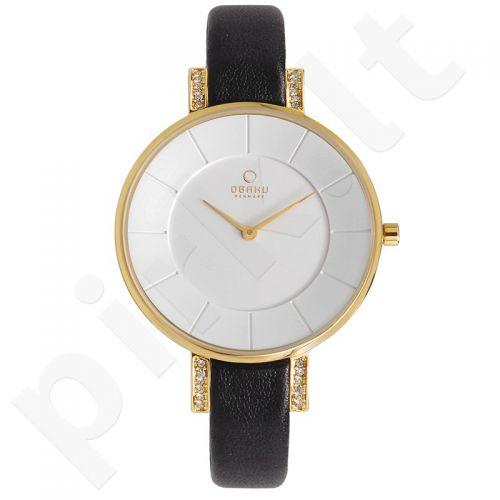 Moteriškas laikrodis OBAKU OB V158LEGIRB1