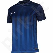 Marškinėliai futbolui Nike Striped Division II Junior 725976-410