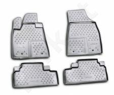 Guminiai kilimėliai 3D LEXUS RX350 2009-2012, 4 pcs. /L41034G /gray