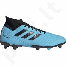 Futbolo bateliai Adidas  Predator 19.3 FG M F35593 mėlynase