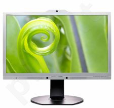 Monitorius Philips 241P6QPJKES 23.8'' LED FHD, 5ms, HDMI, VESA