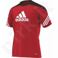 Marškinėliai treniruotėms Adidas Sereno 14 Junior D82939