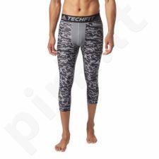 Sportinės kelnės Adidas Techfit 3/4 Chill Print M CD2469