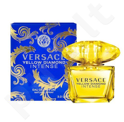 Versace Yellow Diamond Intense, EDP moterims, 30ml