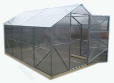 Polikarbonatinis šlaitinis surenkamas šiltnamis CLASSIC 2.5x8