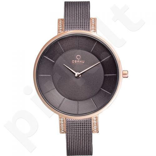Moteriškas laikrodis OBAKU OB V158LEVNMN1