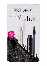 Artdeco Angel Eyes, rinkinys blakstienų tušas moterims, (blakstienų tušas 10 ml + Lash Booster 10 ml + kosmetika krepšys), (1 Black)