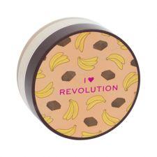Makeup Revolution London I Heart Revolution, Loose Baking Powder, kompaktinė pudra moterims, 22g, (Chocolate Banana)