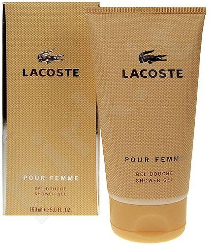 Lacoste Pour Femme, dušo želė moterims, 150ml