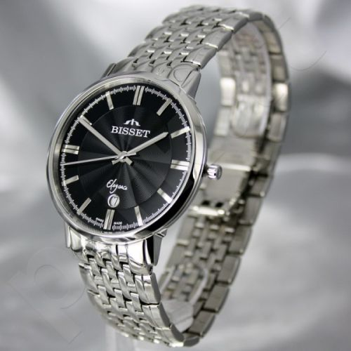 Vyriškas laikrodis BISSET Malibu Gents BSDC89 MS BK