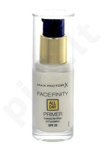 Max Factor Facefinity All Day Primer SPF 20, kosmetika moterims, 30ml