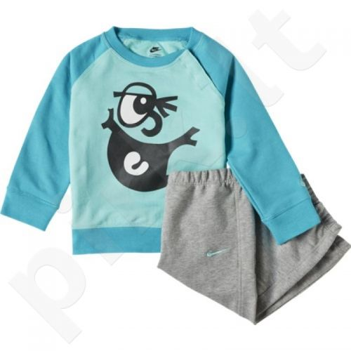 Sportinis kostiumas  Nike LS BF GFX Crew Warm Kids 622151-385