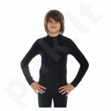 Marškinėliai termoaktyvūs Brubeck Thermo Junior LS11500 juoda