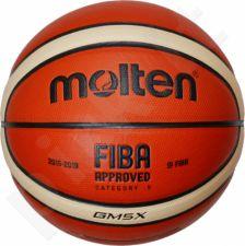 Krepšinio kamuolys training BGM5X FIBA sint. oda