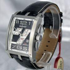 Vyriškas laikrodis BISSET Crossover BSCC92 MS BKWH BK