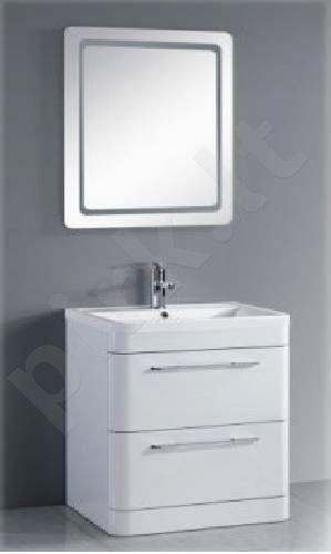 Vonios kambario spintelė su praustuvu C602F (be veidrodžio)