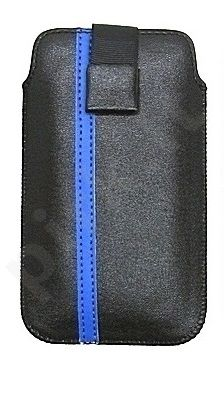 17-C MAGNET universalus dėklas i9100 Telemax juodas/mėlynas