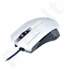 Optinė žaidimų pėlė ART AM-90 2000DPI USB balta