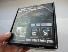 Videoregistratorius HD DVR su dviguba kamera