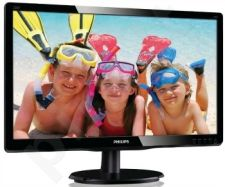 Monitorius Philips V-line 220V4LSB/00 22'' LED, DVI, EPEAT Silver, EPA5.0,Juodas