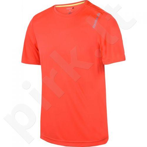 Marškinėliai bėgimui  Reebok Running Essentials Short Sleeve Tee M AX9854