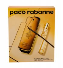 Paco Rabanne 1 Million, rinkinys tualetinis vanduo vyrams, (EDT 100 ml + EDT 20 ml)
