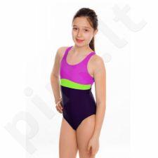 Maudymosi kostiumėlis Aqua-speed Emily Junior różowo-violetinė