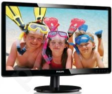 Monitor Philips V-line 226V4LAB/00, 21.5'' LED, DVI, speakers, ES 5.0