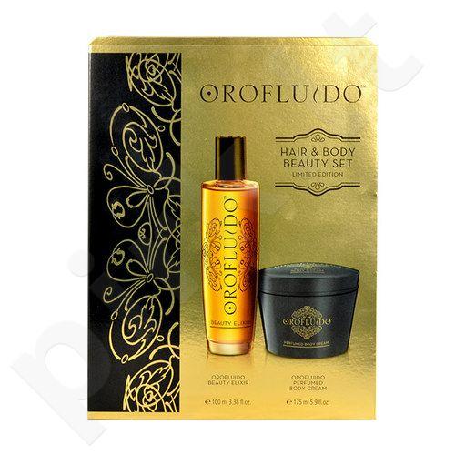 Orofluido Hair & Body Beauty Set rinkinys moterims, (100ml Orofluido Beauty Elixir + 175ml Orofluido Perfumed kūno kremas)