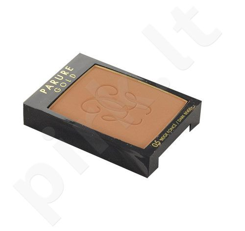Guerlain Parure Gold pudra Foundation SPF15, kosmetika moterims, 10g, (testeris), (05 Dark Beige)