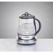 Virdulys Rommelsbacher TA 1400 Tea maker, Glass, Stainless steel/Black, 1400 W, 360° rotational base, 1.2 L