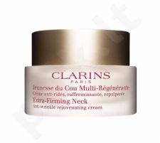 Clarins Extra Firming, Neck Anti-Wrinkle Rejuvenating Cream, kaklo ir dekoltė kremas moterims, 50ml, (Testeris)