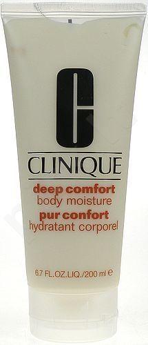Clinique Deep Comfort kūno drėkinamasis, 200ml, kosmetika moterims