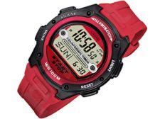 Casio Collection W-756-4AVES vyriškas laikrodis-chronometras