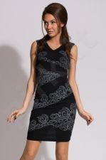 Emamoda suknelė - juoda 9906-1