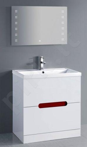 Vonios kambario spintelė su praustuvu F802FS