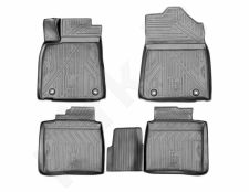Guminiai kilimėliai 3D LEXUS ES 2015->, 4 pcs. /L41004G /gray