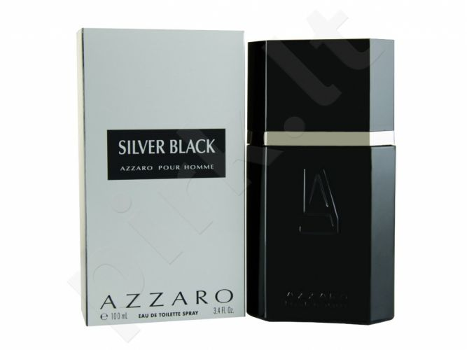 Azzaro Silver Black, tualetinis vanduo vyrams, 100ml