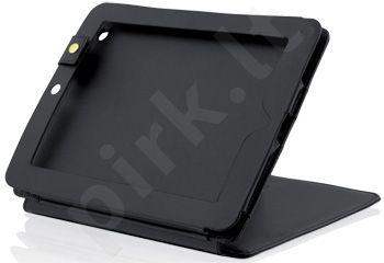 Dėklas iBOX skirtas iPad 2 ir NEW iPad, Eko-oda, Juodas