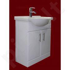 Vonios kambario spintelė su praustuvu D65