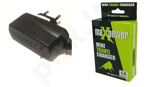 micro USB sieninis įkroviklis  Maxpower juodas