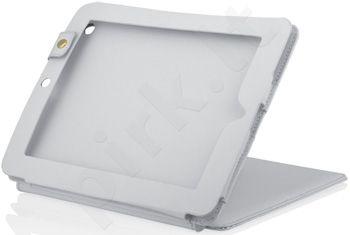 Dėklas iBOX skirtas iPad 2 ir NEW iPad, Eko-oda, Baltas