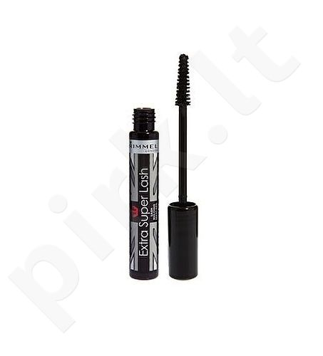 Rimmel London blakstienų tušas Extra Super Lash, kosmetika moterims, 8ml, (102 Brown Black)
